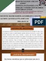 Diapos-sistema de Encofrados de Madera