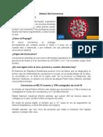 Síntesis Del Coronavirus 2.0