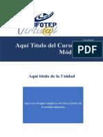 Modelo de Infotep Virtual para de Guias Didacticas