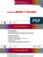 3. Vision, Mision, Valores