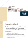 5Personality and Consumer Behavior