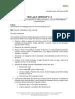 circular gprso no 614 - cumplimiento medidas preventivas