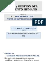 7. EJERCICIOS, CASOS, Y VISITAS A ORG IND