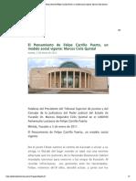 El Pensamiento de Felipe Carrillo Puerto, un modelo social vigente_ Marcos Celis Quintal
