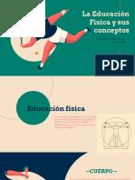 La educación física y sus conceptos