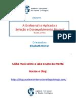 A Grafoanálise Aplicada a RH _ Iniciação
