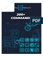 The CAD Network - 200+ Commands For Cad