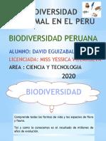 BIODIVERSIDAD ANIMAL EN EL PERÚ