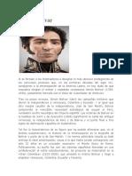 Pensamientos y vida de Simón Bolívar (1)