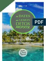 The Dates and Lemon Detox Protocol Sheet Official V-1.2