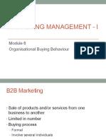 Marketing - module 6