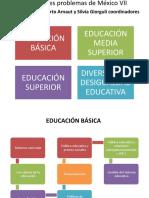 Los grandes problemas de México VII Educación Alberto.pptx