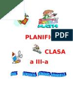PLANIFICAREA CALENDARISTICĂ