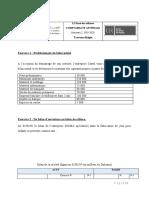 TD 4 - Etude de cas SIGMA