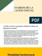 ESCENARIOS ED INICIAL