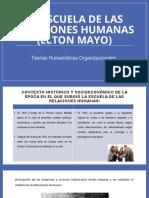 La Escuela de las Relaciones Humanas (Elton Mayo).pptx