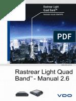 MANUAL Rastrear Light Quad Band