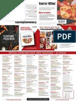 Cleveland Pizza Week Passport