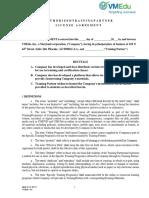 VMEdu ATP Agreement