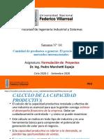 Clase 4 - Cant de productos a generar y el precio a vender