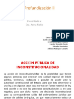 DIAPOSITIVAS ACCION DE INCONSTITUCIONALIDAD