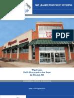 Single Tenant Net Leased Walgreens Property for sale