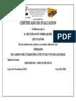 CERTIFICADO 3131