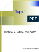 Introduction to Electronic Communication
