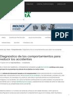 Diagnóstico de los comportamientos para reducir los accidentes.pdf