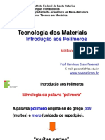 Aula 04 - Tecnologia dos Materiais - Introducao aos Polimeros.pdf