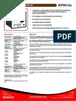 Datasheet_KPM13x.pdf
