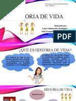 Historia de vida y guía de entrevista (video)
