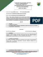 ACTA MODO NO PRESENCIAL GRADOS 1° 2° Y 3° 21 DE OCTUBRE 2020