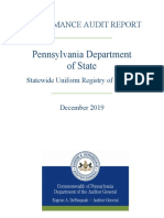 Pennsylvania Audit Report