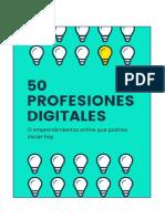 50 Profesiones y Emprendimientos Digitales
