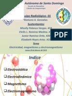 Electrostatica electrodinamica y electromagnetismo (1)