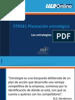 4. PLANEACION ESTRATEGIA ESTRATEGIAS