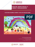 Prevencion Del Abuso Sexual a n - DIF NACIONAL