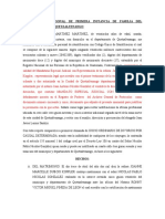 6. Demanda de divorcio  por casusa determinada con Mandatario, CORREGIDA (1)