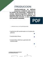 IMPORTANCIA DEL TRANSFORMADOR