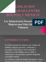 LEGISLACION COMPARADA ENTRE BOLIVIA Y MEXICO