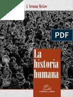 La Historia Humana - J. Vernon McGee
