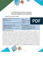Syllabus del curso Proceso Administrativo Asistencial 1 2020