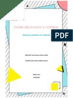 INSTRUMENTACION Y CONTROL-Elementos primarios