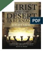 Cristo y el tabernáculo del Desierto Jonh V. Fesko