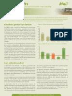 Fiche de synthèse pour les decideurs de l'etude economique sols et forets