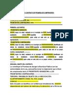 FORMATO CONTRATO DE PROMESA DE COMPRAVENTA