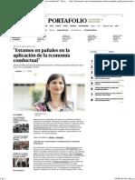 _Estamos en pañales en la aplicación de la economía conductual_ _ Peru _ Economía _ El Comercio Peru