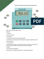 Manual Regulador de Velocidad Sinamics g110 y Motor Potencia