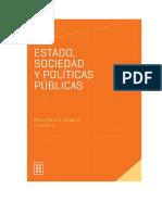 Estado, sociedad y políticas públicas por Cicogna, María Paula A.. ISBN